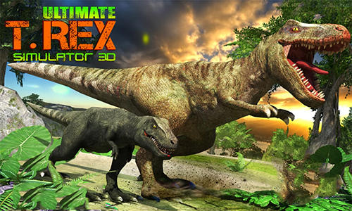 Ultimate T-Rex simulator 3D capture d'écran 1