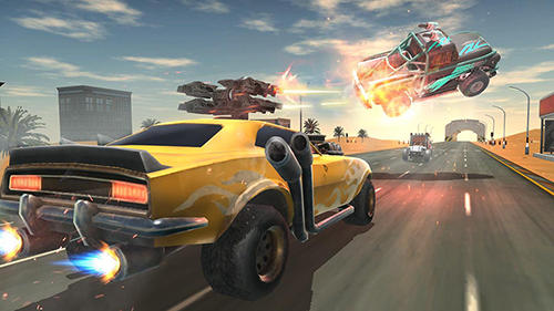 Death race: Road battle for Android