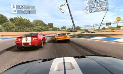 Racing games Real Racing 2 for smartphone