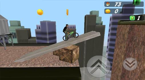 Arcade-Spiele Pepi bike 3D für das Smartphone