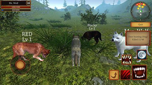 Wolf simulator evolution для Android