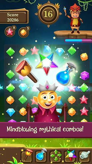 Arcade-Spiele Charm star für das Smartphone