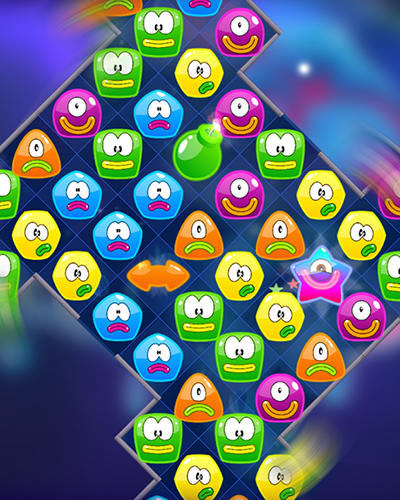 Jelly nova: Match 3 space puzzle für Android