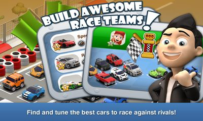 Strategy games Car town streets for smartphone