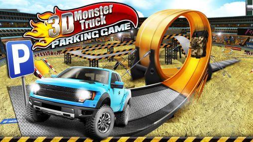 3D Monster truck: Parking game captura de pantalla 1