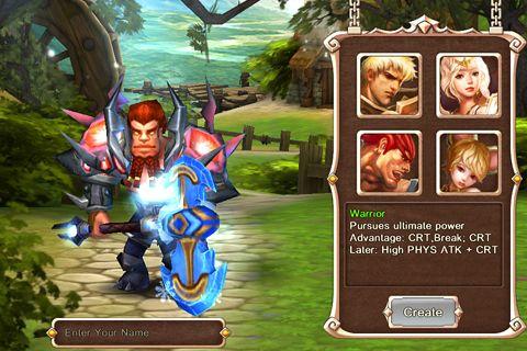 RPG-Spiele: Lade Göttliche Macht auf dein Handy herunter