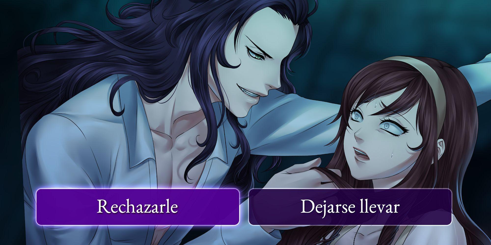 Moonlight Lovers : Beliath - dating sim / Vampire captura de pantalla 1
