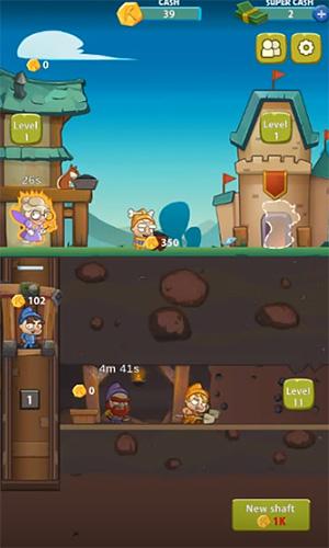 Seven idle dwarfs: Miner tycoon für Android