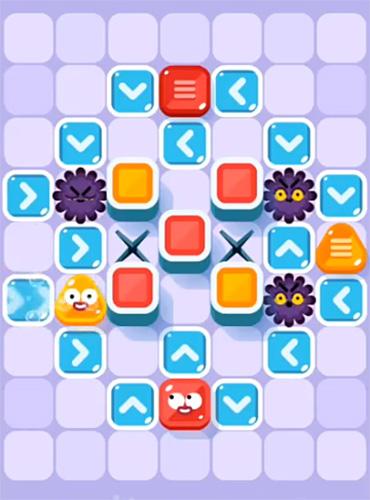 Logikspiele Soap dodgem: Bubble puzzle für das Smartphone