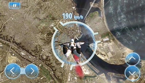 Simulation games Red Bull: Wingsuit aces for smartphone
