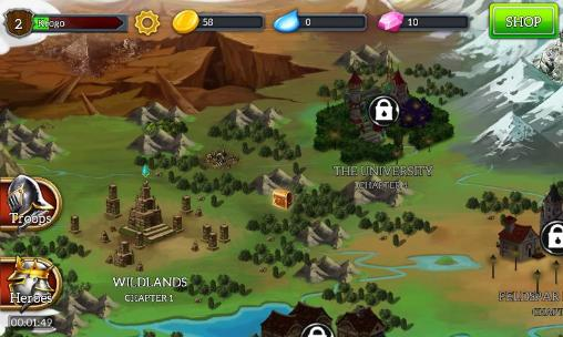 RPG Dragonfall: Tactics for smartphone
