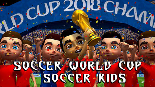 Soccer world cup: Soccer kids captura de pantalla 1