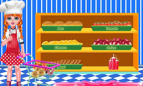 Smoky burger maker chef for iPhone for free