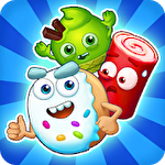 Sugar heroes: World match 3 game! Symbol