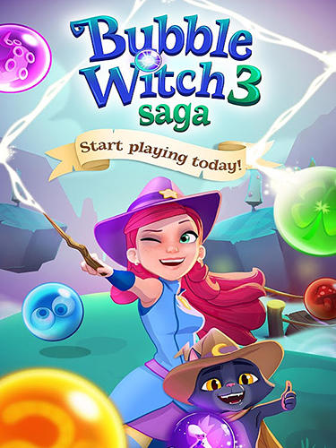 Bubble witch 3 saga captura de pantalla 1