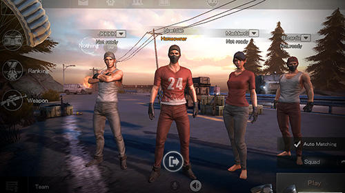 Action Survivor royale für das Smartphone