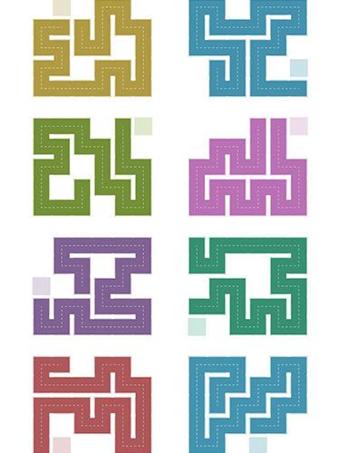 Fill: One-line puzzle game auf Deutsch