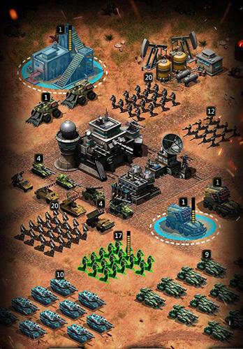 Empire strike: Modern warlords für Android