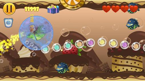 Frog candys: Yum-yum для Android