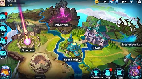 Summon dragons скриншот 1