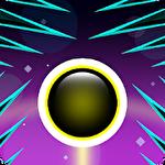 Circle vs spikes Symbol