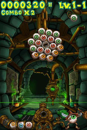 Arcade-Spiele: Lade Eyegore's Eye Blast auf dein Handy herunter