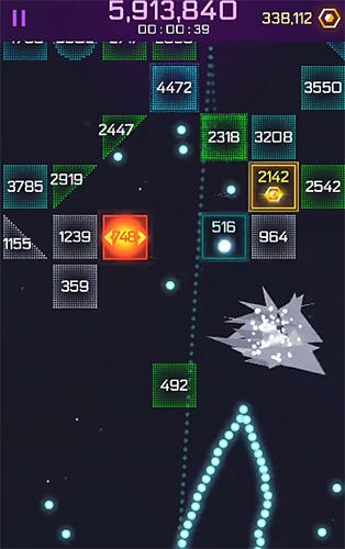 Infinity ball: Space screenshot 1