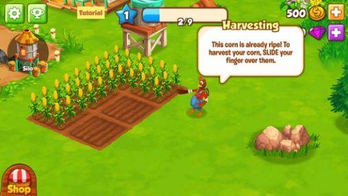 Onlinespiele Top farm für das Smartphone