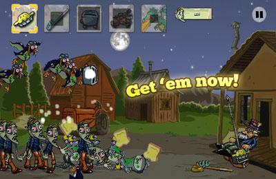 El pastel para los zombies para iPhone gratis
