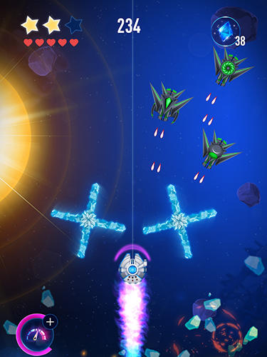 Rocket X: Galactic war für Android