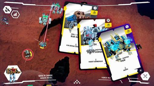 iPhone用ゲーム コロッサス・コマンド のスクリーンショット