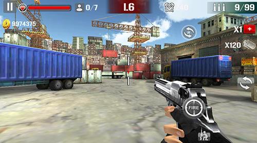 Action Sniper shoot fire war pour smartphone