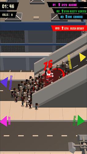 Infect wars.io скриншот 1