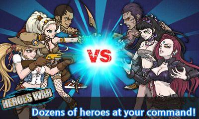 Arcade-Spiele Heroes War für das Smartphone