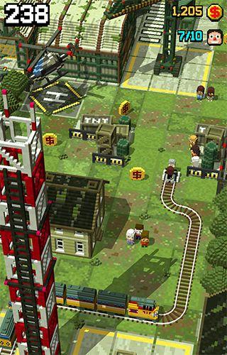 Jogos de arcade: faça o download de Trem na estrada para o seu telefone