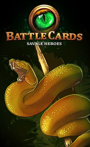 logo Battle cards savage heroes TCG