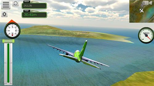Boeing airplane simulator en français