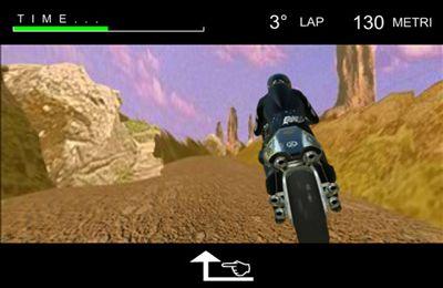 Screenshot iRennen 3D auf dem iPhone