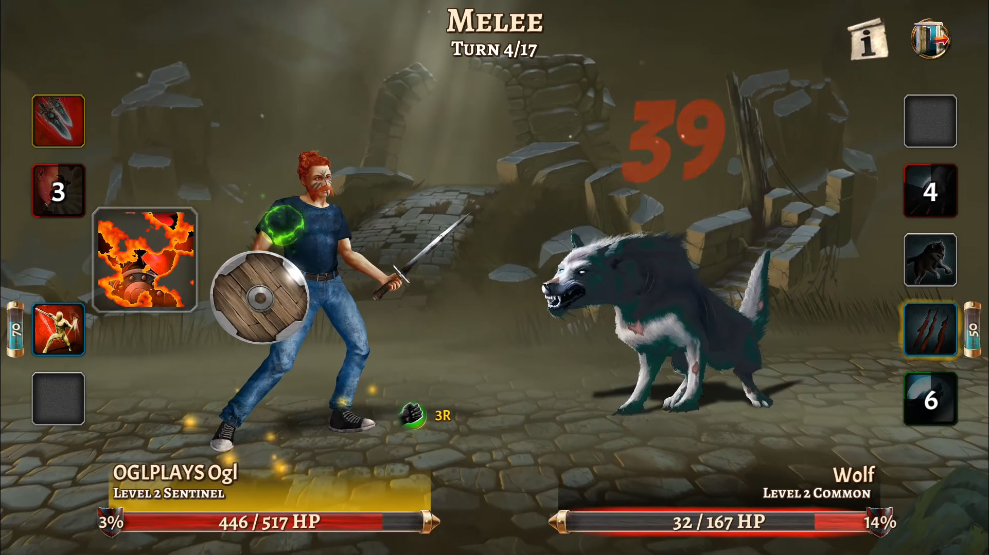 Eterna: Heroes Fall - Deep RPG for Android