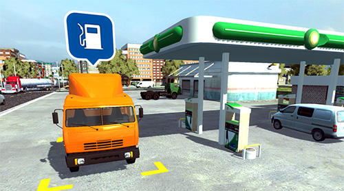 Simulation games Big truck hero 2: Real driver for smartphone