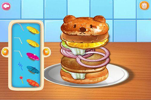 Аркады игры: скачать Fast food maker на телефон