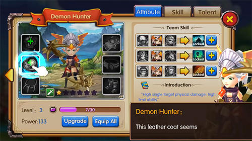 Brave legends: Heroes awaken for Android