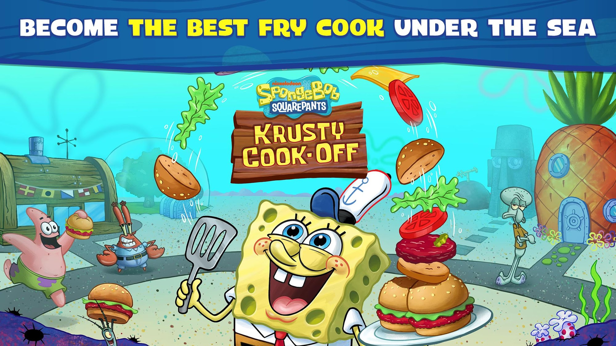 Download Game Android SpongeBob Krusty Cook-Off