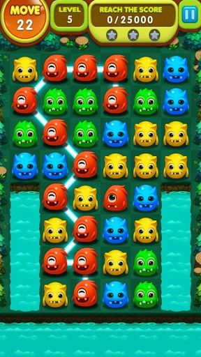 Monster splash für Android