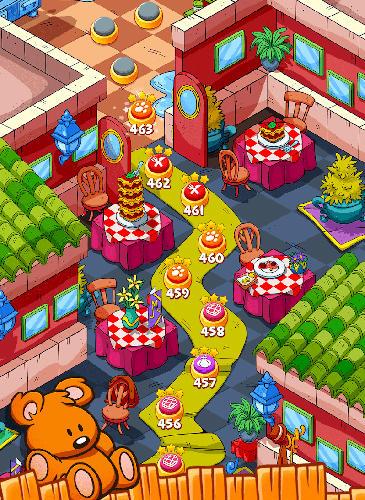 Arcade-Spiele Garfield snack time für das Smartphone