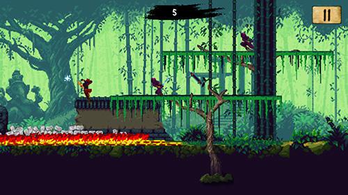 Pixel Ninja scroller: The awakening auf Deutsch