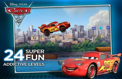 Screenshot Cars 2 auf dem iPhone