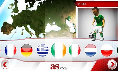 Striker Soccer Eurocup 2012 Screenshot