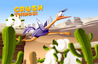 Arcade games: download Run Ostrich Run to your phone