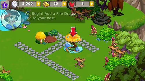 Simulator-Spiele Dragon story: Holidays für das Smartphone
